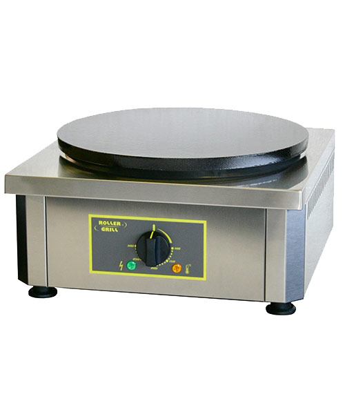 Equipex Commercial Crepe Griddle, Enameled surface (208V)