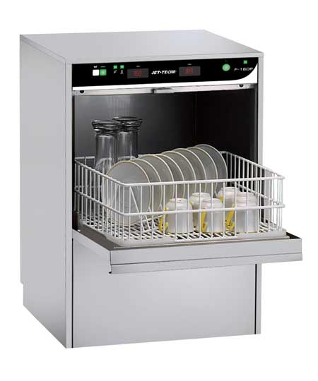 High Temp. Under Counter Cup & Glass Washer: F-16DP