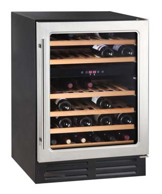 Bottle Cooler, Professional S/S, holds 46 wine bottles, by THOR
