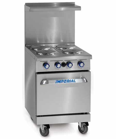 Imperial Heavy Duty Range, Four Burner, Electric (Free Shipping)