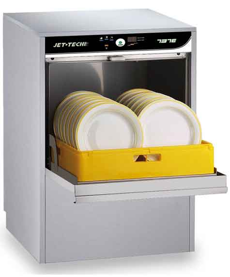 High Temp. Under Counter Deluxe Dishwasher: 737E