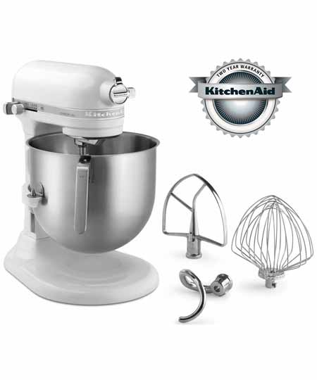 KitchenAid Commercial-grade 8 Quart Mixer, NSF certified