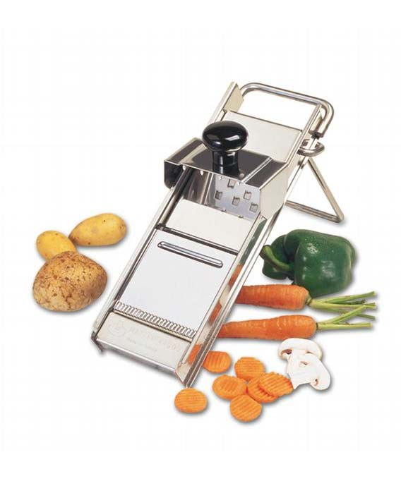 Matfer Professional Stainless Steel Mandoline With Pusher