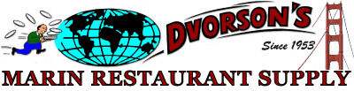 Marin Restaurant Supply presented by Dvorson's