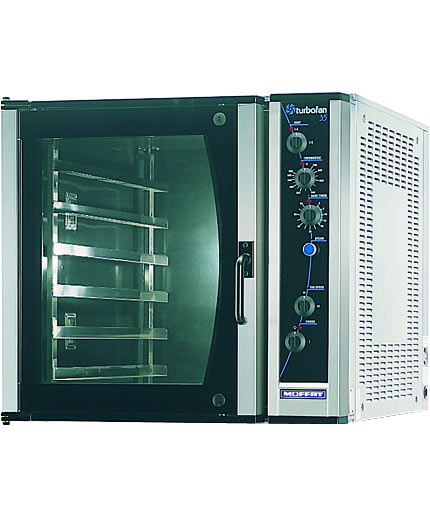 E35 TurboFan Electric Convection Oven, Full Size, 6-tray