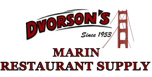 Marin Restaurant Supply is a division of Dvorsons