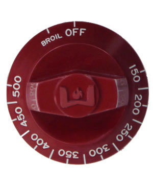 Residential Knob B-O, Red