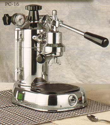 La Pavoni Professional Home Model Lever Espresso Machine