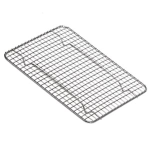 Wire Pan Grate, Half Size, Chrome Plated