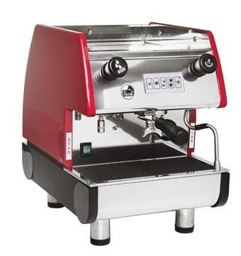 Pub 1-V, Commercial Espresso Machine (Empire Red)