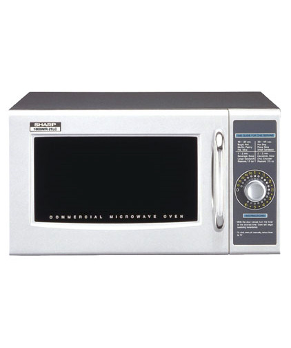 Commercial Microwave, Dial Controls, 1000 watts