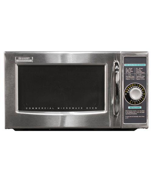Commercial Microwave R-21LCFS, Dial Controls, 1000 watts