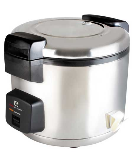 Rice Cooker, Stainless Steel, 33 Cup, 120V