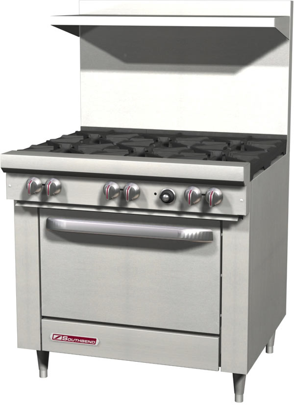 Southbend S Series Restaurant Range, 36 inch (Nat. Gas)