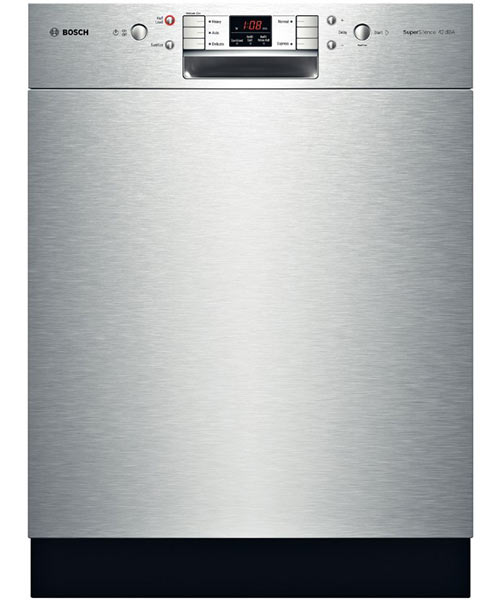 Bosch Dishwasher, Stainless, 800 Plus Series