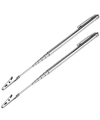 Extendible Match Holder for lighting pilot, Two Pack