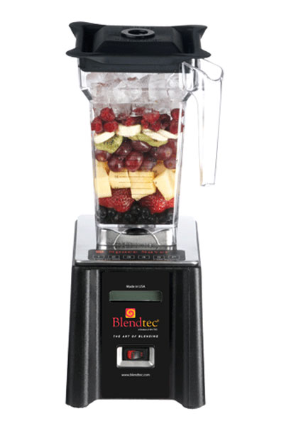 Blendtec SpaceSaver Blender, one 96 oz. & 32 oz. Jar