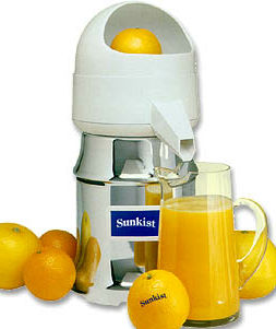 Sunkist J-1 Commercial Citrus Juicer (Type 8)