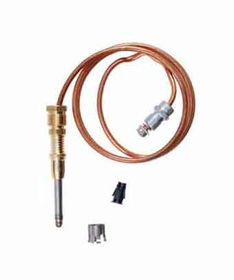 Thermocouple with 18 inch copper capillary for American Range