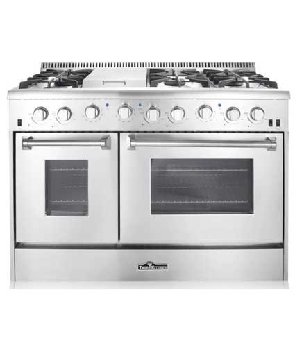 THOR 48 inch Professional Gas Range with Griddle (Natural Gas)
