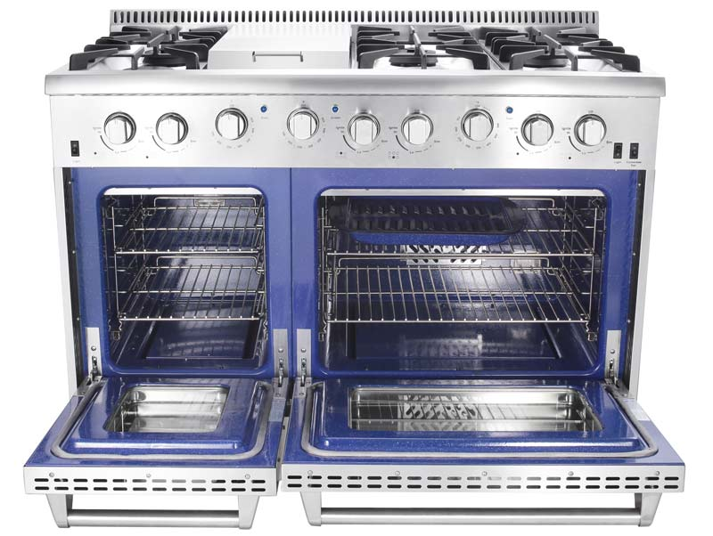 Thor 48 Inch Professional Gas Range With Griddle Lp Gas