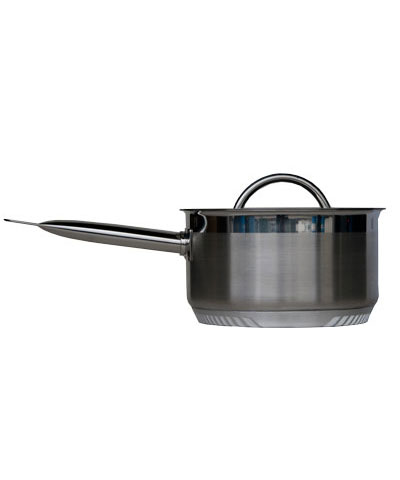 Turbo Pot Sauce Pan, 7.9 inch/3.5 quarts, lid included (S/S)