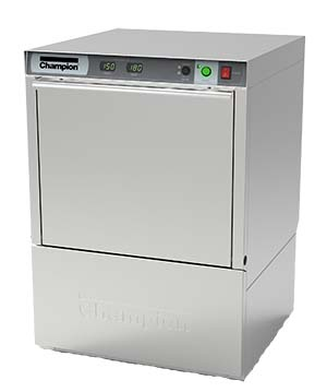 Champion UH130B Undercounter Dishwasher, 70° rise