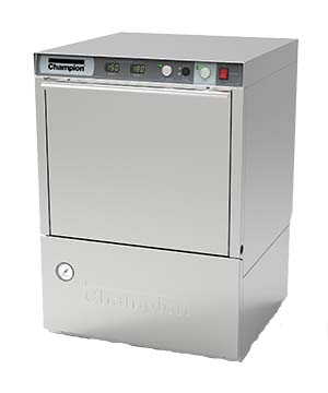 Champion UH230B Undercounter Dishwasher, 70° rise