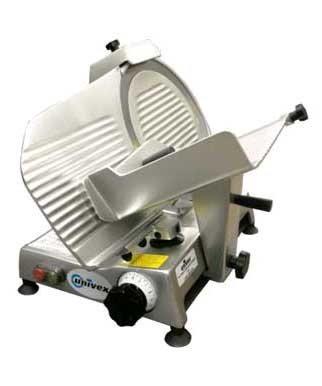 Anodized Aluminum Deli Slicer with 12 inch German Steel Blade