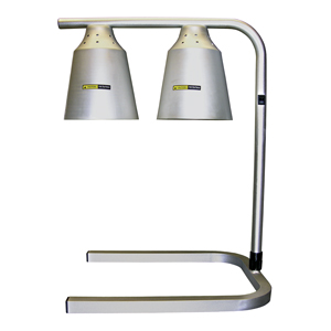 Heating Lamp, 2 Bulb, Free Standing
