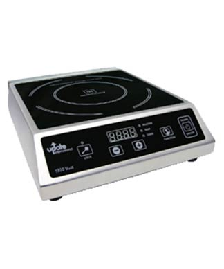 Induction Cooker Cooktop, Stainless Steel with Ceramic Top