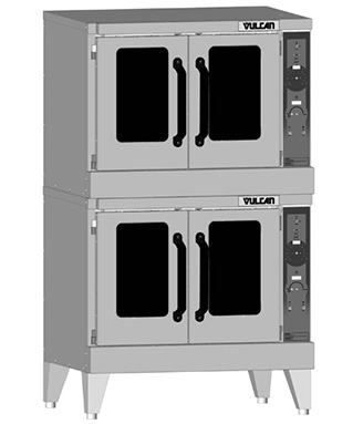Vulcan VC55GD-LP Double Deck Gas Convection Oven (LP Gas)