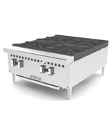 Vulcan Medium Duty Gas 12 inch Hot Plate (Natural Gas or LP)