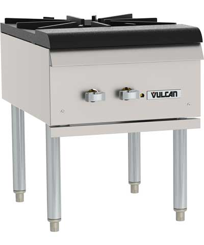Vulcan Stock Pot Range, Single (nat. gas or LP)
