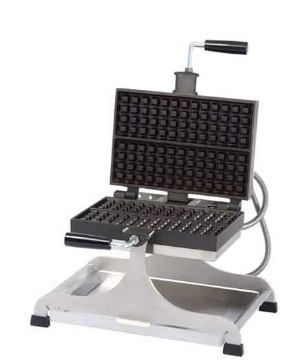 Krampouz Swivel type Waffle Maker, Liege, Double (240 Volt)