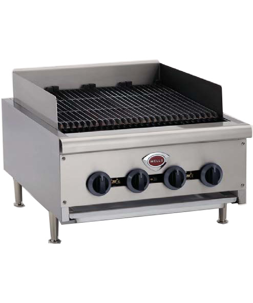 Wells Gas Char Broiler, 12 inches wide