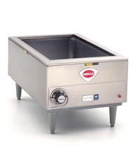 "Countertop Warmer, Freestanding with legs (holds 12"" x 20"" pan)"