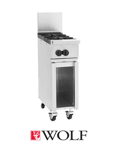 Challenger XL 12 inch Range, 2 Burners, Cabinet Base