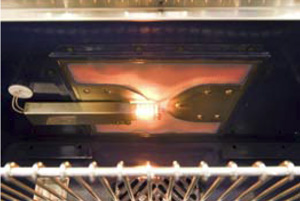 NXR's feature powerful Infrared Broilers for restaurant style searing and broiling
